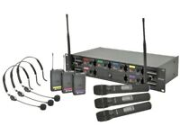 Chord 6 Channel UHF Wireless Microphone System (Licence free)