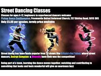 Street Dancing Classes for Children