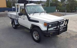 91 TOYOTA LANDCRUISER HZJ75R 4X4 4.2L 1HZ DIESEL MANUAL C/CHASSIS Varsity Lakes Gold Coast South Preview