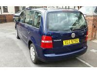 Volkswagen Touran 1.9TDI 7 Seater (Zafira, seat, Vauxhall, Passat, family car, bora, skoda, estate)