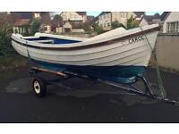 16 foot Orkney fishing/shooting/boat with trailer