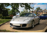 PORSCHE 911 (996) TURBO, MANUAL, SPORTS BLACK INTERIOR, 66K MILES