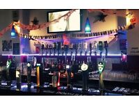 PART-TIME BAR STAFF NEEDED FOR IMMEDIATE START - PERMANENT