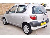 Cheap Toyota Yaris 1litre 5 Door Service Cheap Insurance Beginner car (px fiesta corsa corolla aygo)