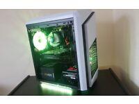 Computer & PC & Fresh built & i5 6400 & GTX 950 & RGB LED & Windows 10