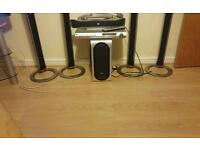 LG Surround sound system with DVD player