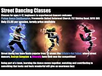 Street Dancing Classes for Children, Shirley High Street