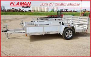 """ATC 6'x12' Aluminum Utility Trailer with 12"""" sides"""