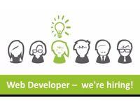 Web developer required immediately - Birmingham Office based