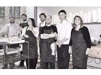 cook's assistant/kitchen porter to help in friendly foodie kitchen