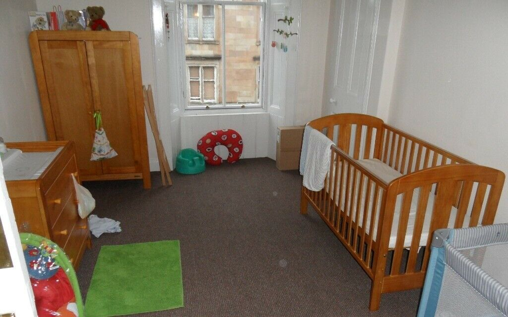 Papas Nursery Bedroom Furniture 3pc Set
