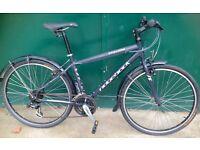 17 inch Ridgeback Cyclone lightweight Aluminium bicycle Hybrid bike Commuter Town bike w/ Mudguards