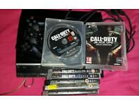 Ps3 with 6 games 1 controller and hdmi cable