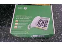 DORO LARGE DISPLAY LANDLINE PHONE NEW STILL IN BOXED
