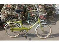 1970's Hercules folding bike