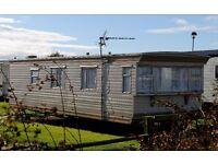 static caravan for quick sale on east coast - 12 month season