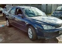 Ford Mondeo 2005 1.8 lx petrol manual