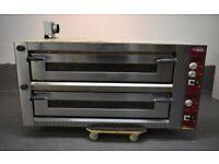 Diamond LD18/35-N Twin Deck Electric Pizza Oven, 2 x 9 Pizzas Ø 350mm