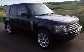 "2002 Land Rover Range Rover Vogue 3.0 TD6 Auto L322, Leather, 20"" Stormer Alloys & A/T Tyres, Blue"