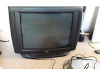 Old TV going
