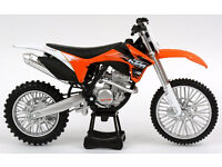 New Ray Die Cast Toy 1:12 KTM SXF 350 Xmas Gift Toy Bike Motocross