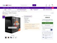 NEW bargain Ryzen 7 5800X 8 cores + free thermal paste am4 amd