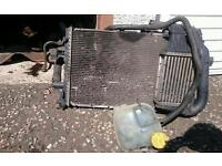 Vauxhall astra g mk4 98-04 radiator and intercooler assembly