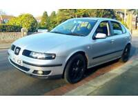 Seat Leon Tdi with Low mileage and long MOT