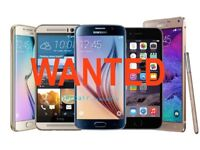 WANTED!! Samsung Galaxy S8 + / Samsung Galaxy S8 / Samsung Galaxy s7 Edge / Samsung Galaxy s6 Edge