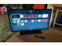 Samsung 40 inch super slim led smart new condition fully working with remote control