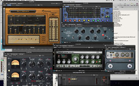 AUDIO PLUG-INS for MAC OR PC
