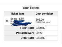 2 X Taylor Swift tickets £50. Wembley Fri 22nd June