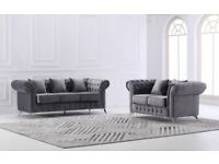 HOT SALE💖 CHESTERFIELD 3+2 SEATER SOFA SET MORE SIZES & COLOURS