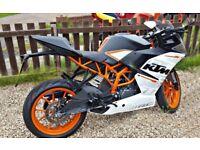 KTM RC390 for sale not a suzuki yamaha kawasaki
