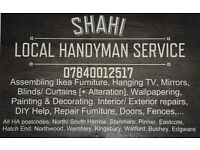 SHAHI Handyman Service Maintenance Repairs Assembly Ikea Furniture Painting Decorating Hang Curtains