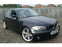 (58) 2008 BMW 1 Series 118d M Sport 5dr Manual