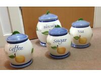 tea coffee sugar storage