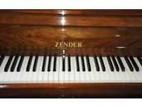 Zender Compact Piano with stool