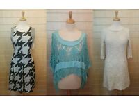 Boutique closure job lot bundle of new quirky ladies clothes, shoes, jewellery, other misc stock