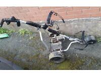 Electric trolley for parts or repair