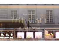 Hotel Cafe Royal Recruitment Open Day - F&B staff - 27th & 29th September