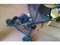 Mountain Buggy Breeze pushchair stroller baby pram 3-wheeler