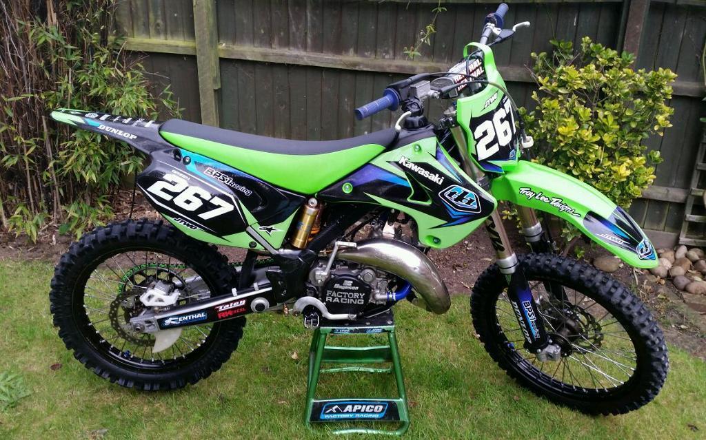 Kawasaki kx125 134cc very trick immaculate 2 stroke kx 125 not 144