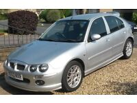 2003 MG ZR in Metallic Silver - quick sale needed so first offer over £250 will buy it.