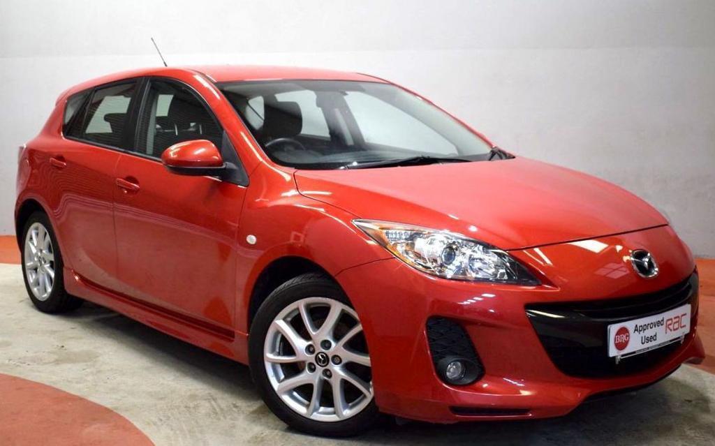 MAZDA 3 1.6 TAMURA 5 Door Hatchback 103 BHP (red) 2013