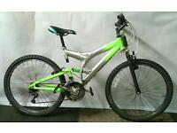 Full Suspension Bike Medium SERVICED & FULLY WORKING includes LED Lights and a Lock