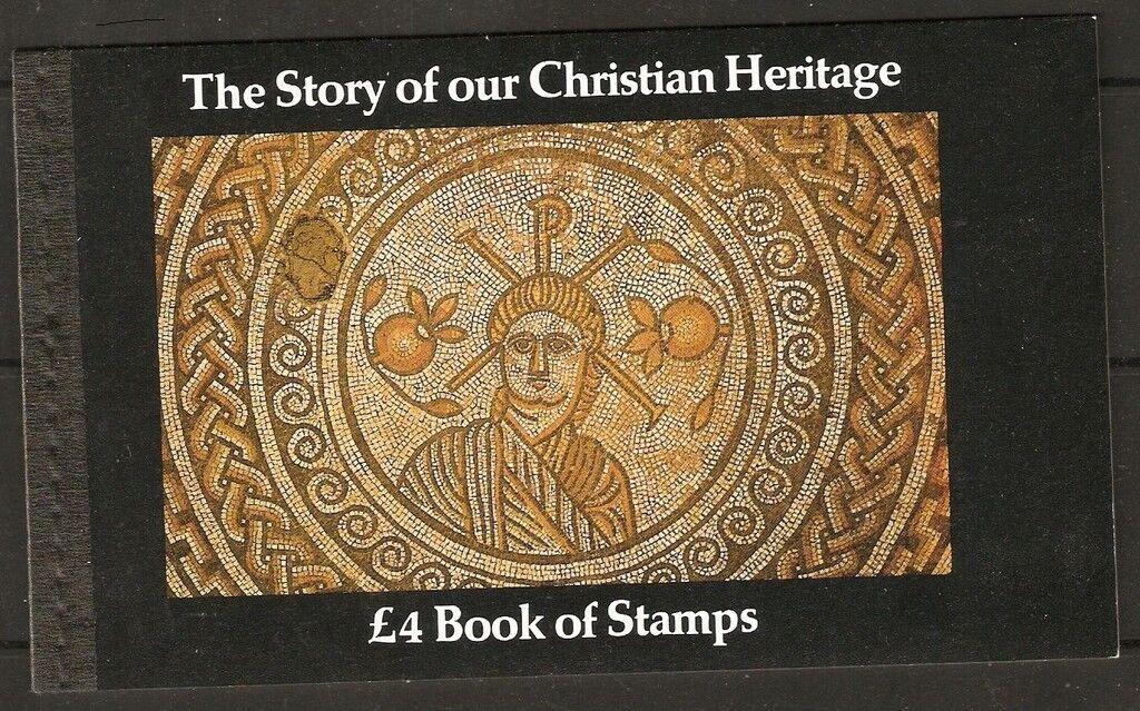 GB SGDX5 1984 CHRISTIAN HERITAGE PRESTIGE BOOKLET