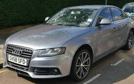 Audi a4 1.8 tfsi. Front and rear parking sensors with bang+olufsen speaker system, rs4 alloys