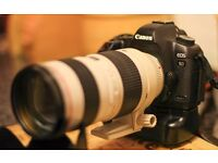 CANON 5D MK2 AND CANON 70-200MM 2.8 USM LENS