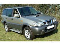 2003 Nissan Terrano 2, 3.0 TDi sve 4x4, Automatic, 7 Seater. Low Mileage. MOT Fail-Spares or repair